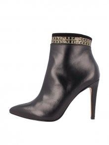 El Dantes Dámská kotníčková obuv BB_D16504-40_BLACK LEATHER