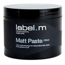 label.m Matující pasta pro definici a tvar vlasů (Matt Paste) 120 ml