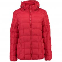 Geographical Norway Dámská bunda BARBOUILLE LADY SHORT 056 + RPT 2_Red
