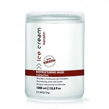 Inebrya Restrukturační maska s keratinem Ice Cream Keratin (Restructuring Mask) 500 ml