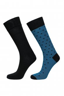 PONOŽKY GANT O1. 2-PACK SOLID AND DOT SOCKS