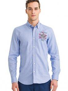 Galvanni Pánská košile GLVWM10340061IGHT BLUE MULTI\n\n