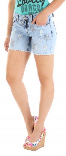 Dámské jeansové kraťasy Sublevel