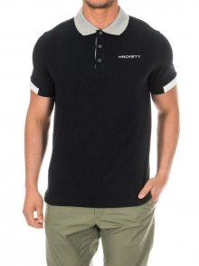 Hackett London Pánské polo tričko HMX1006F-BLACK\n\n