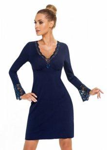 Donna Stella II dámská noční košilka tmavě modrá XXL tmavě modrá