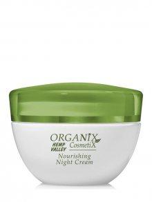 Organix Cosmetix Noční vyživující krém s konopným olejem_50 ml\n\n