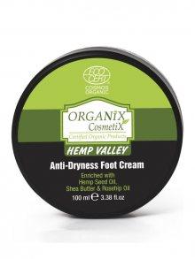 Organix Cosmetix Vyživující krém na nohy s konopným olejem 100 ml\n\n