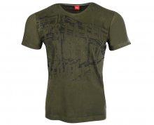 s.Oliver Pánské tričko 13.711.32.5752.79A2 Green S
