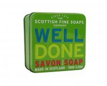 Scottish Fine Soaps Mýdlo v plechu Dobrá práce 100 g