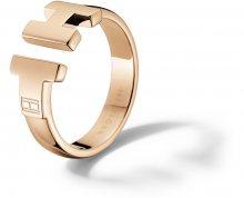 Tommy Hilfiger Luxusní bronzový prsten z oceli TH2700862 54 mm
