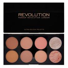 Makeup Revolution Paletka tvářenek (Ultra Blush and Contour) Hot Spice