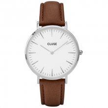 Cluse La Bohème Silver White/Brown CL18210