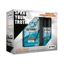 STR8 Live True - voda po holení 100 ml + deodorant ve spreji 150 ml
