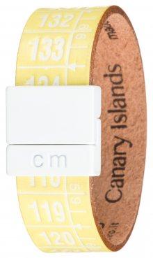 Canary Island Náramek Il Centimetro | Žlutá | Pánské | S 18 cm