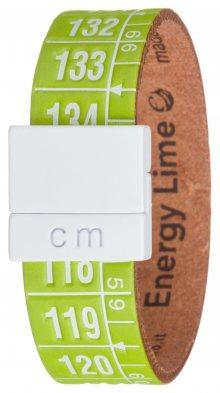 Energy Lime Náramek Il Centimetro | Zelená | Pánské | S 18 cm