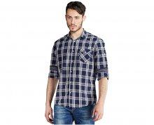 Edward Jeans Pánská košile Denim Shirts Chequered 16.1.1.03.012 M
