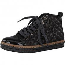 Tamaris Elegantní dámské kotníkové boty 1-1-25725-39-098 Black Comb 38