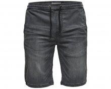 ONLY&SONS Pánské kraťasy Linus Jog Shorts Grey Pk 9063 Grey Denim S