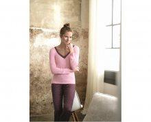 SELMARK Dámské vínové pyžamo P02730-P14 L