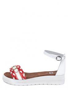 Julie Julie Dámské sandály 233_8247_ROSSO_BIANCO\n\n