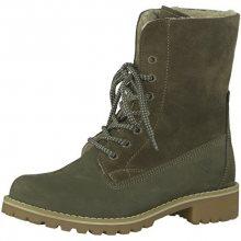 Tamaris Elegantní dámské kotníkové boty 1-1-26443-29-722 Olive 36