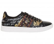 Desigual Dámské tenisky Shoes Cosmic Exotic Negro 18WSKP09 2000 36