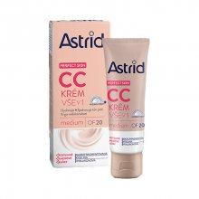 Astrid CC krém vše v 1 OF 20 medium Perfect Skin 40 ml