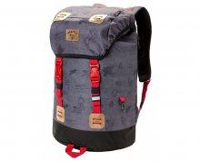 Meatfly Batoh Pioneer 3 BackPack B-Stamps Grey