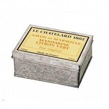 Le Chatelard Luxusní mýdlo v zinkové krabičce Mandarinka a limetka 100 g