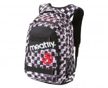 Meatfly Exile 2 Backpack E Cross Check Print Black 22 l