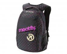 Meatfly Batoh Exile 2 Backpack G Rainbow Dot Black Print 22L