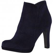 Tamaris Elegantní dámské kotníkové boty 1-1-25046-29-846 Navy Velvet 37