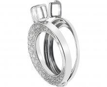 Hot Diamonds Stříbrný přívěsek Emozioni Luna DP615