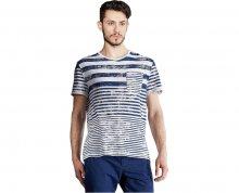 Edward Jeans Pánské triko Stripes T-Shirt 16.1.1.01.016 M