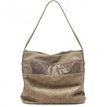 Tamaris Elegantní kabelka Khema Hobo Bag 2350172-394 Brown comb.