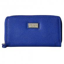 Tommy Hilfiger Elegantní modrá dámská peněženka Womens Core Wallets Zip Around Wallet Light Blue