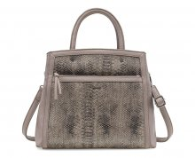 Tamaris Elegantní crossbody kabelka Jimmy Boston Bag 1487162-349 Taupe comb.