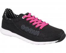 Coqui Dámské tenisky Jump 1352 Black/Fuchsia 100042 36