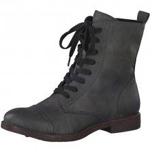 Tamaris Elegantní dámské kotníkové boty 1-1-25205-29-214 Anthracite 38