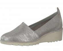 Tamaris Elegantní dámské boty 1-1-24614-28 Silver Metall 41