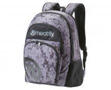 Meatfly Vault Backpack A Binary Camo Print 26 l