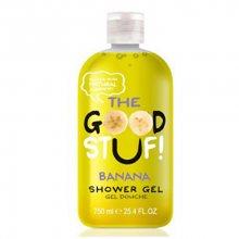 The Goodstuf Hydratační sprchový gel s vůní banánu (Banana Shower Gel) 750 ml