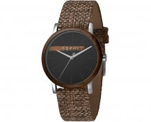Esprit Plywood Black Grey Canvas - ES1G030L0045