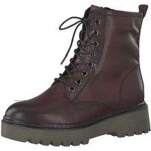 Tamaris Elegantní dámská obuv 1-1-25709-39-549 Bordeaux 37