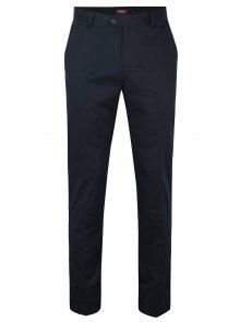 Tmavě modré chino kalhoty Merc