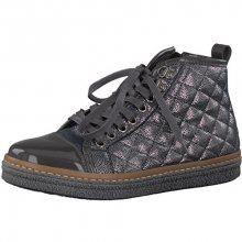 Tamaris Elegantní dámské kotníkové boty 1-1-25725-39-234 Anthracite Com 37