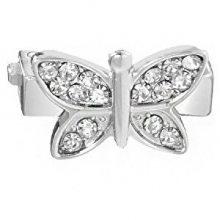 Morellato Motýlek s čirými krystaly na náramky Sensazioni SAJT10