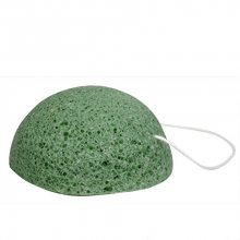 Sefiros Konjac Sponge čisticí kartáček pro ženy Sea Green