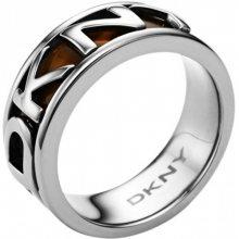 DKNY Ocelový prsten s nápisem NJ1892040 59 mm