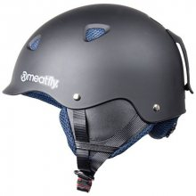Meatfly Lyžařská helma Snow 17 Helmet B - Black Matt L